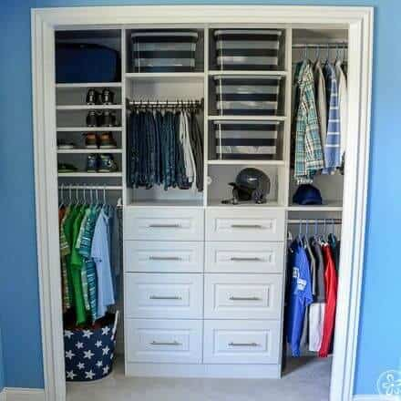 Baby Blue Boys Bedroom Drawer