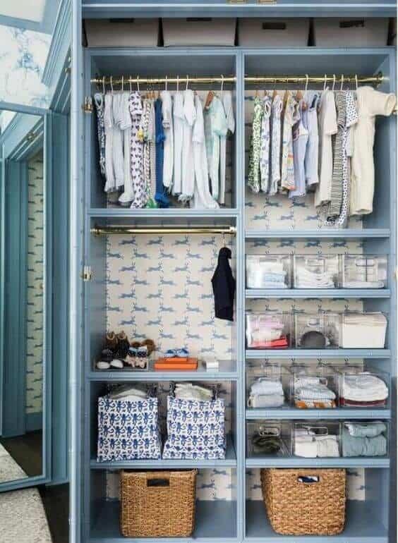Baby Blue Boys Bedroom
