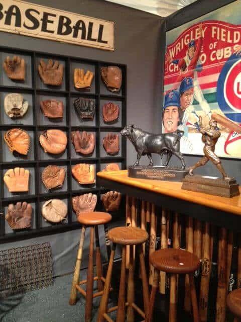 Baseball garage ideas