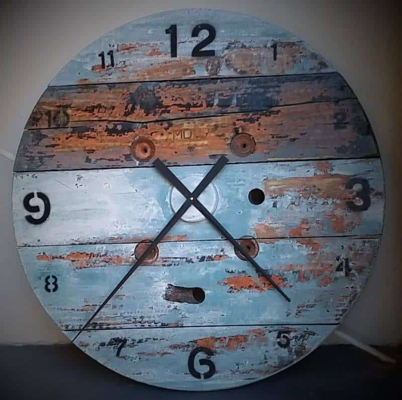 Cable Drum End Clock