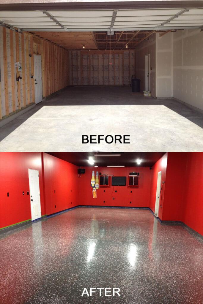 Cement Garage Floor Ideas