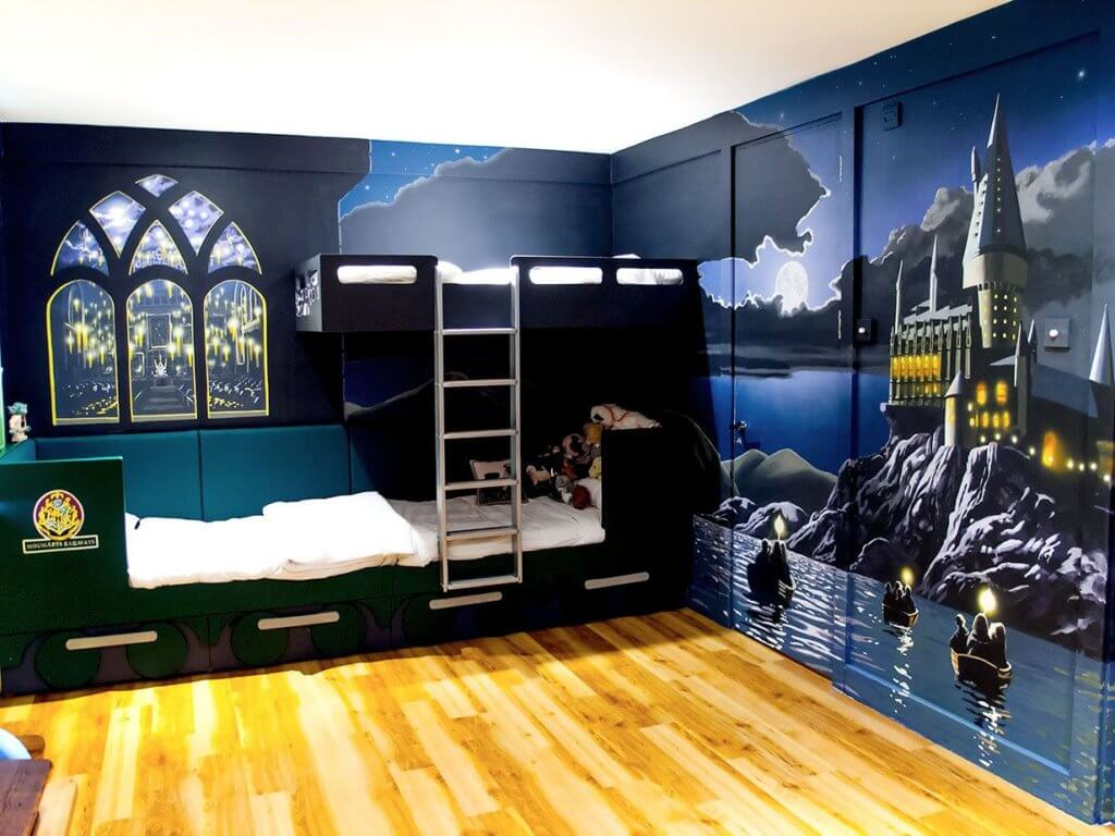 Completely custom bedrooms for kids