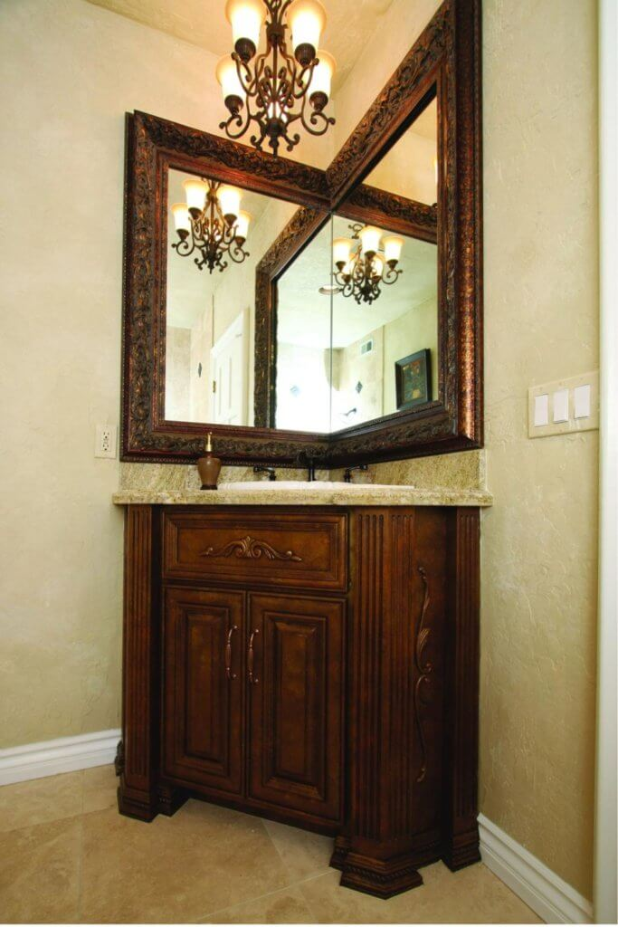 Corner Mirrors for bathroom