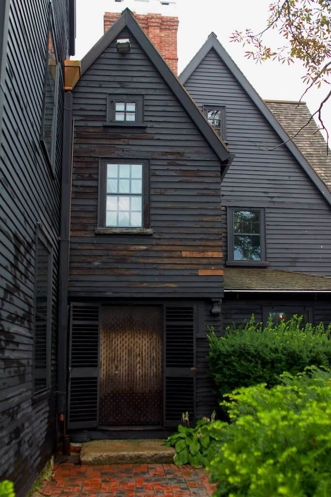 Dark Exterior Home Paint