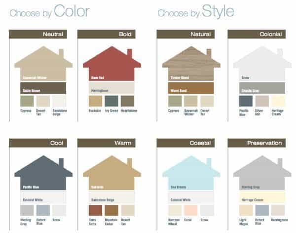 House and Shutter Combinations Ideas