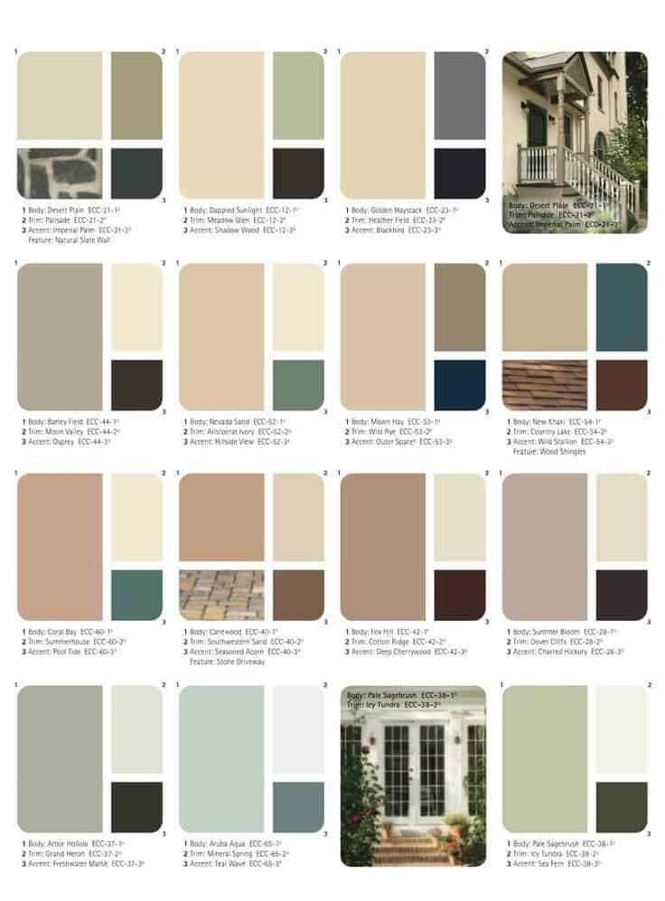 House and Shutter Combinations