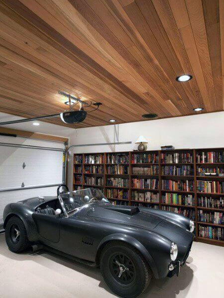 In-ceiling spots for garage