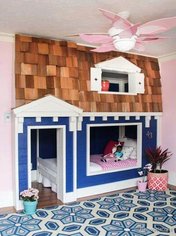 Kids Bed Playhouse