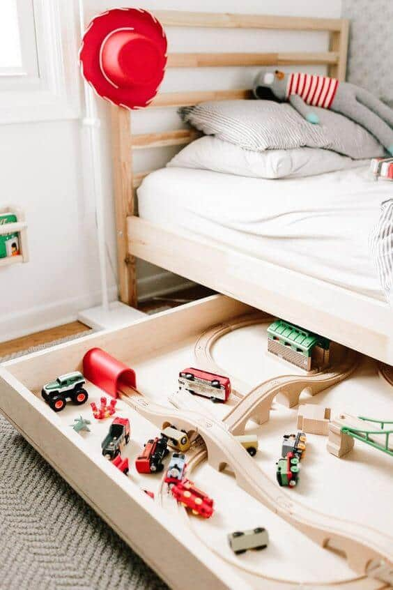 Kids Bed with empty space