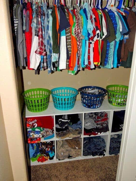 Kids Room Storage Ideas