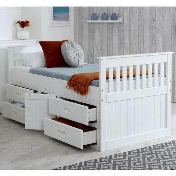 Kids Storage Beds with Cupboards