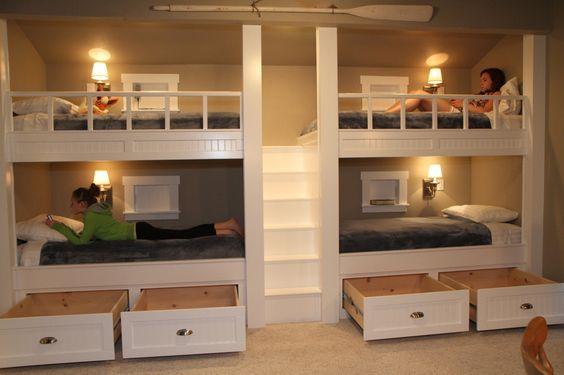 Kids Storage Secondary beds