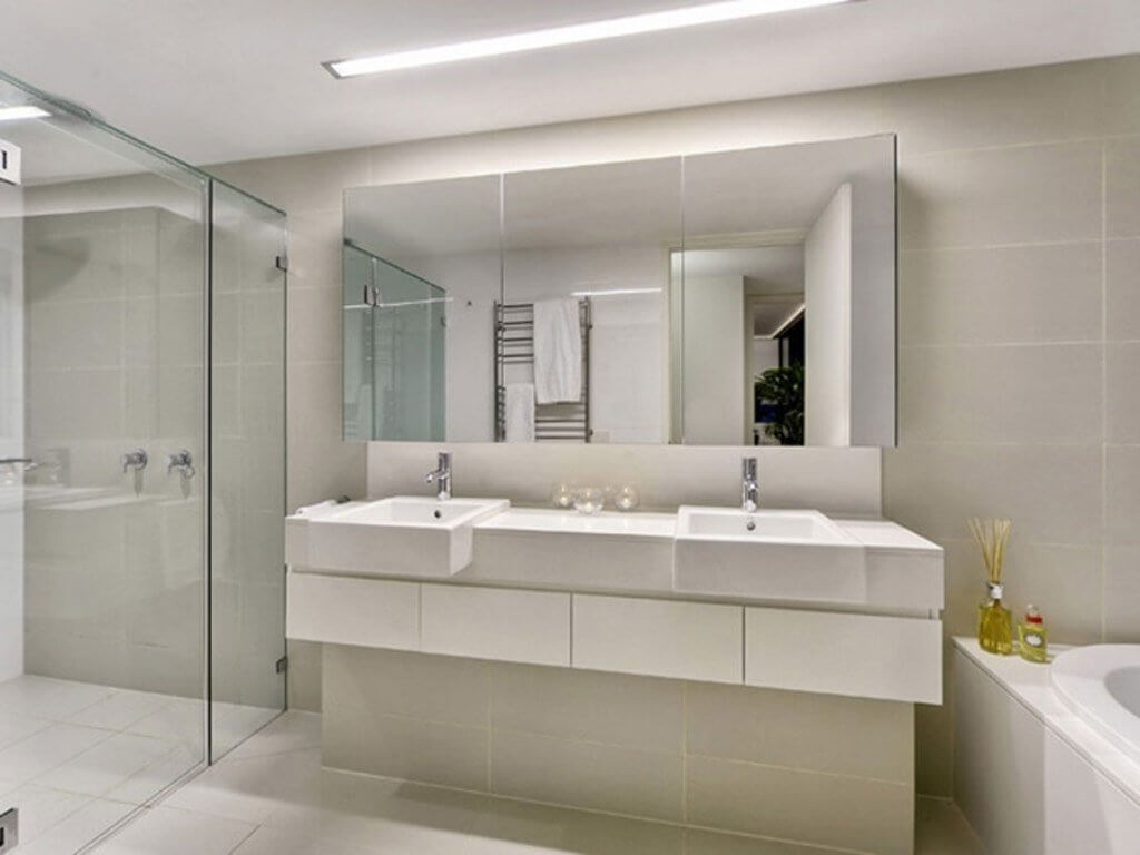 Large Mirrors for Bathroom