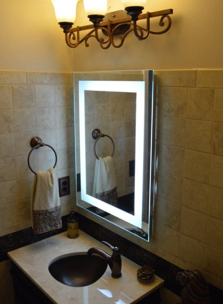 Minimalist Mirrors for bathroom