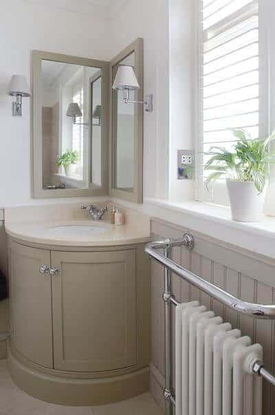 Modern Corner Mirrors for bathroom