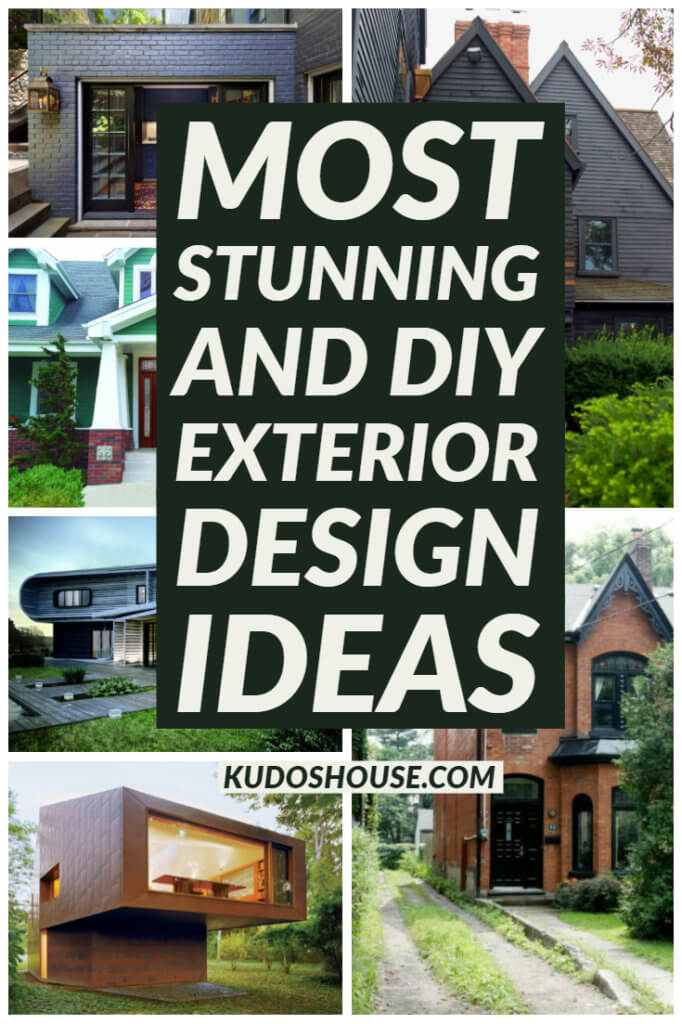 Most Stunning and DIY Exterior Design Ideas