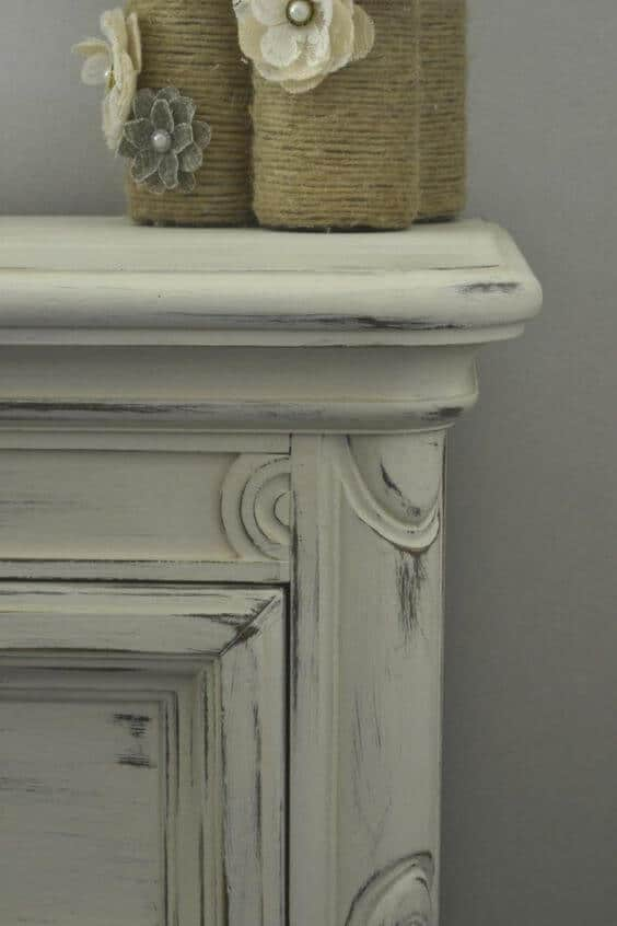 Night Stand with Chalk Paint Ideas