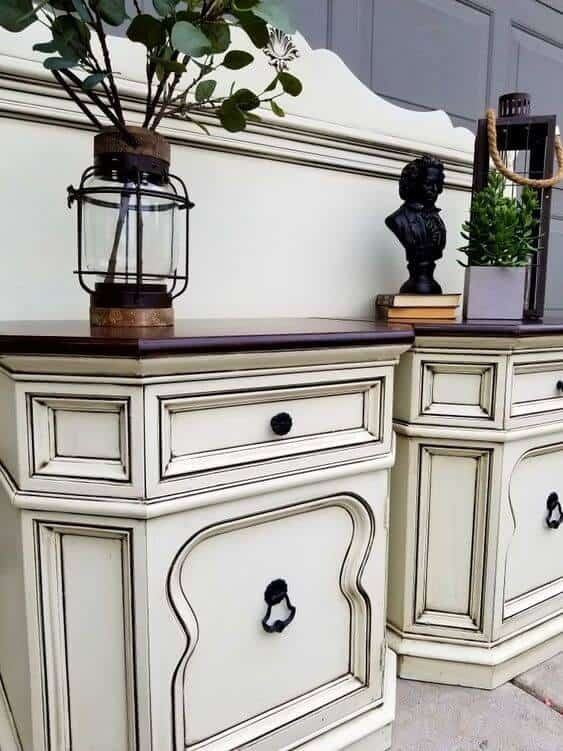 Night Stand with Chalk Paint