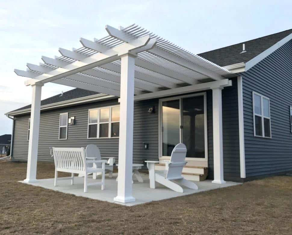 Permanent Patio Covers Not Attached