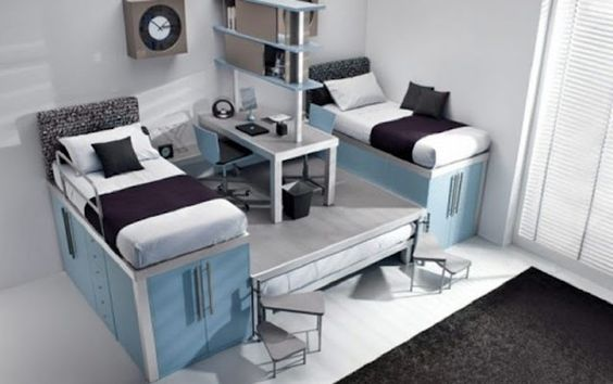 Pull out third beds