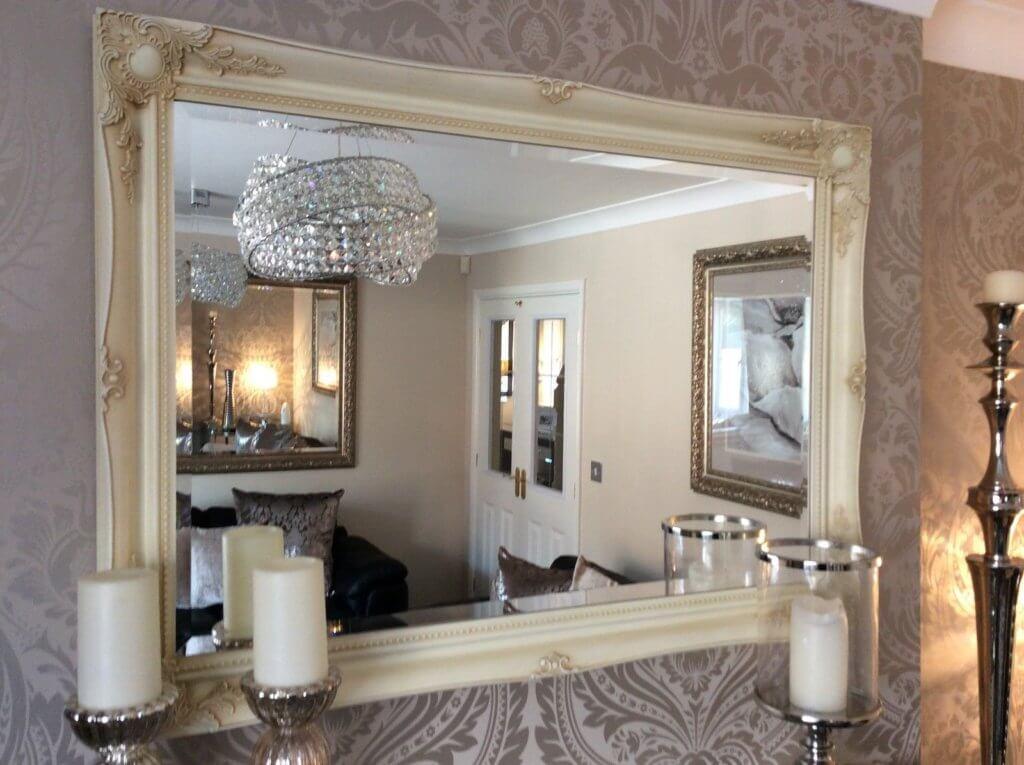 Shabby Chic Framed Mirrors