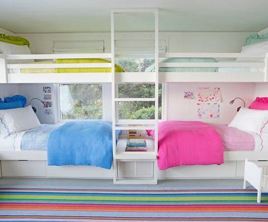 Solid color furniture for kids room