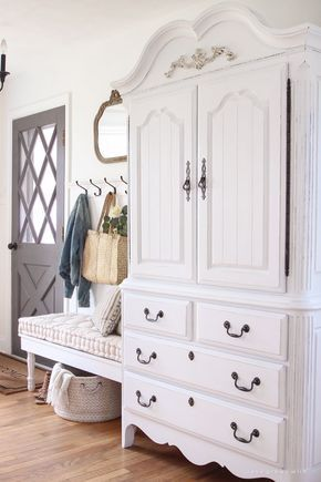 White Painted Hall Furniture