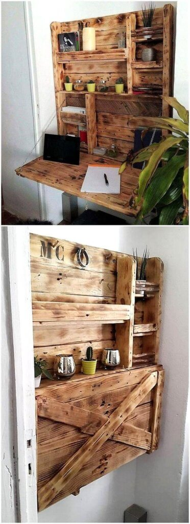 Wooden Fold Away Table