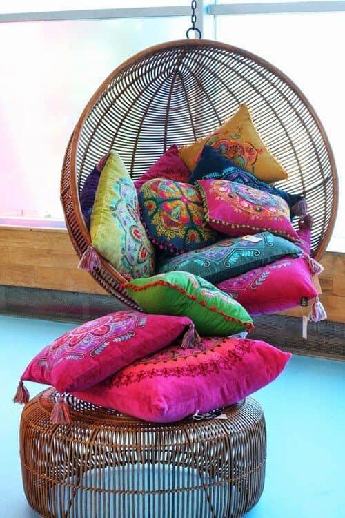 bright cushions ideas