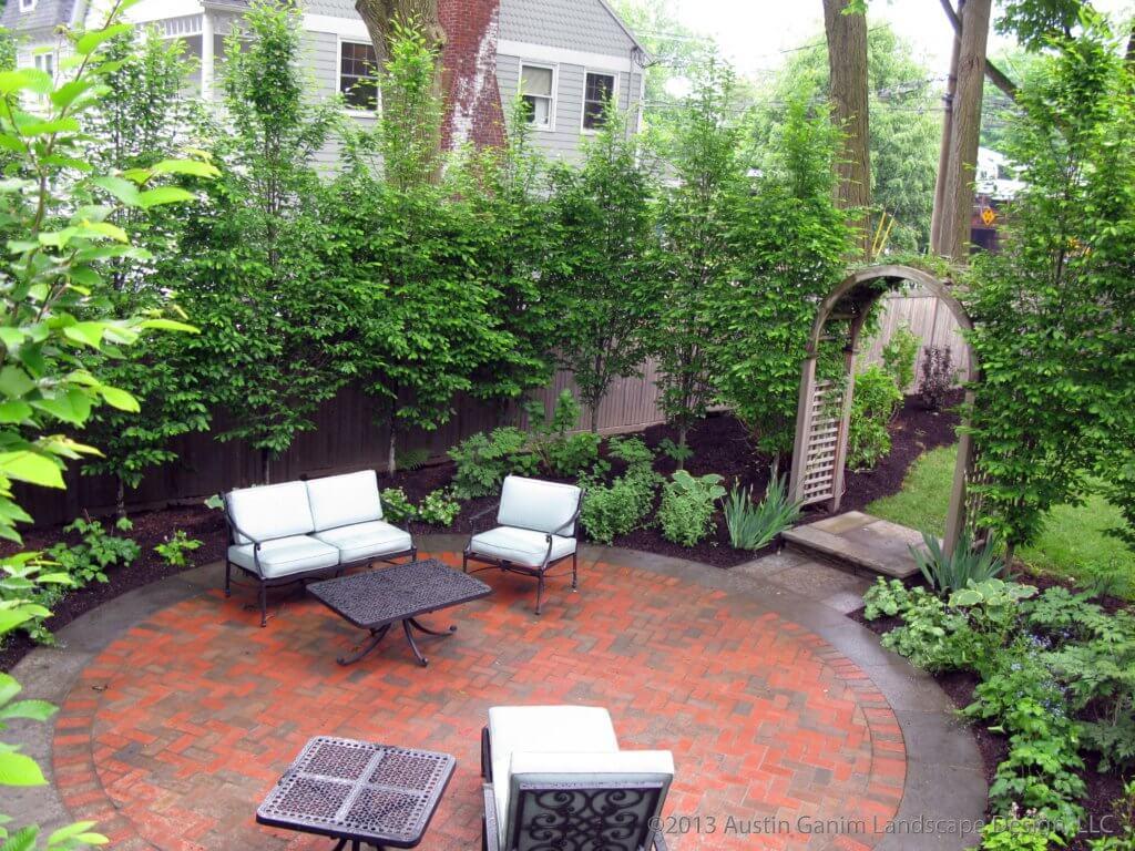 circular patio designs