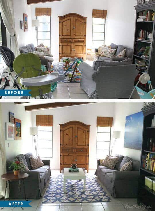 de-cluttered house ideas