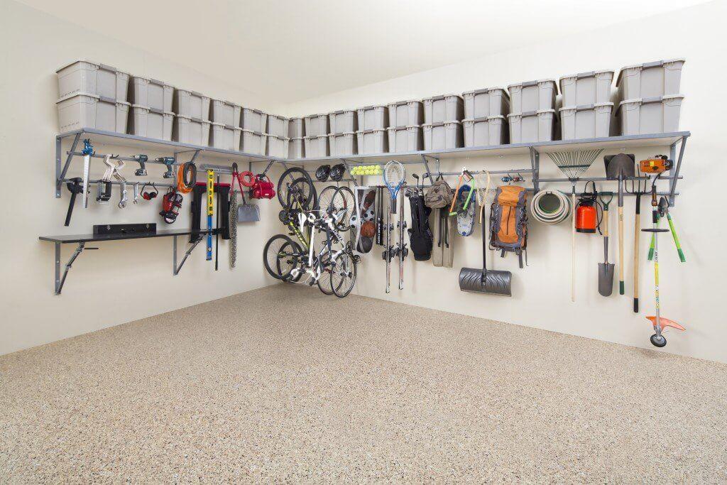 garage shelves ideas