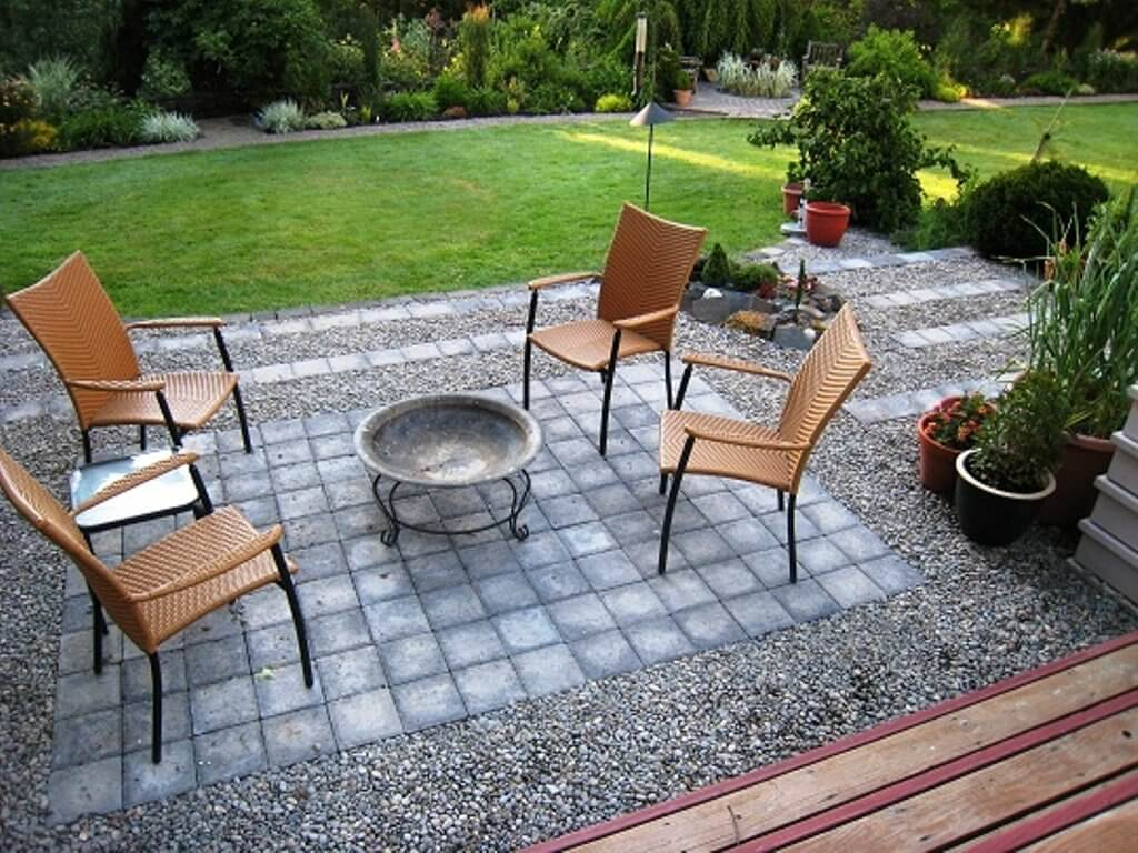 gravel patios ideas