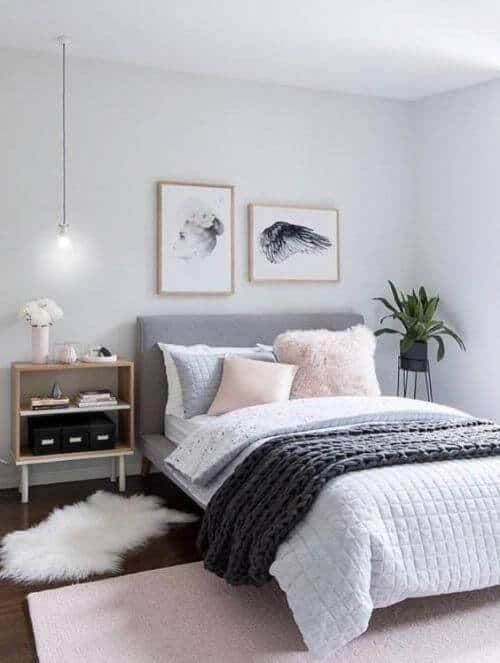 grey bedroom ideas for couples