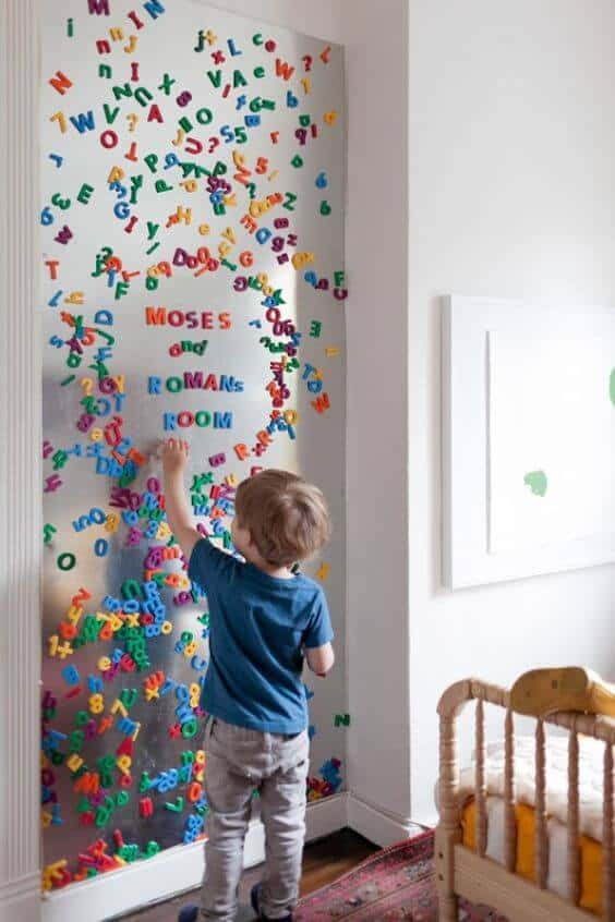 magnetic paint kids room