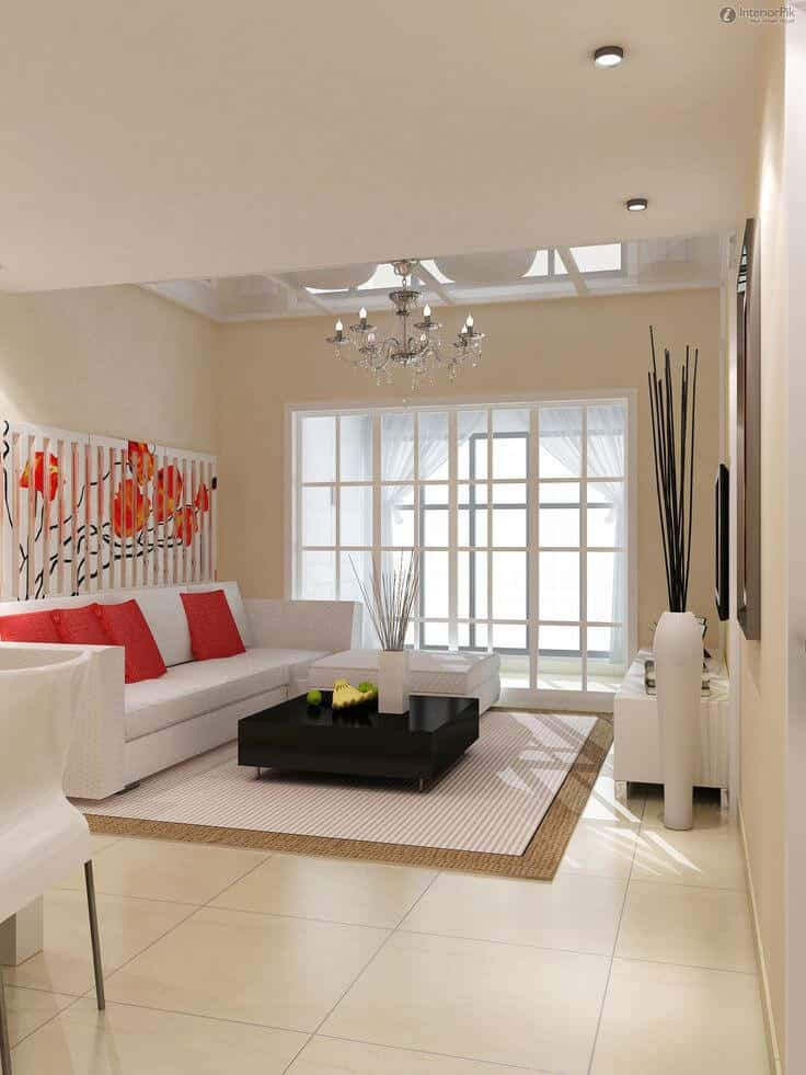 minimalist curtains for living room