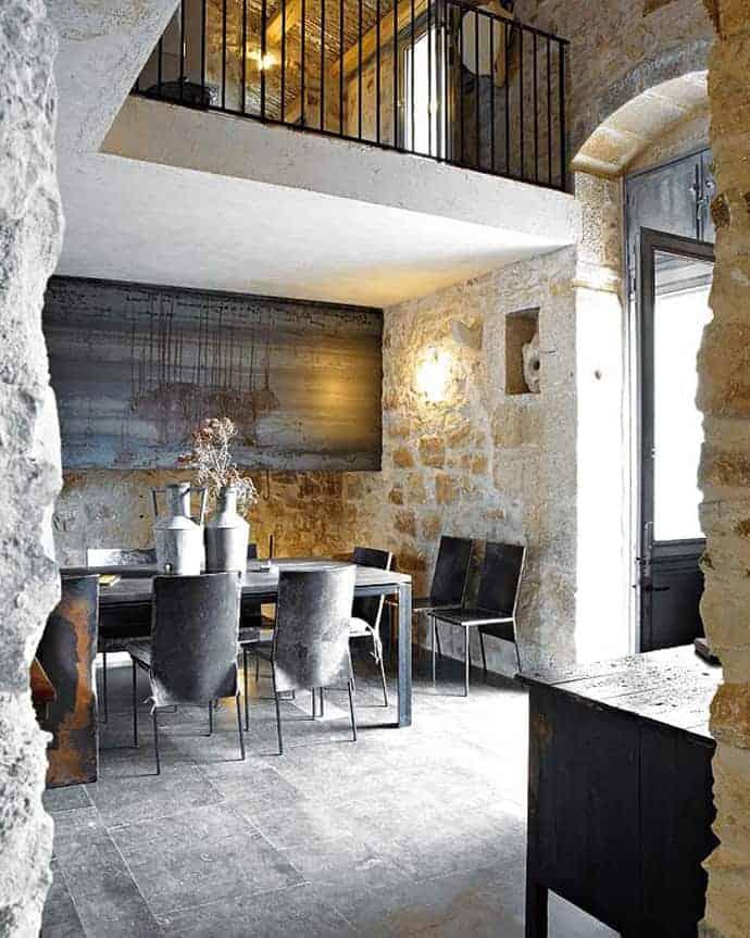 rustic minimalist homes