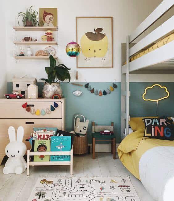 shaded drawers for kids room