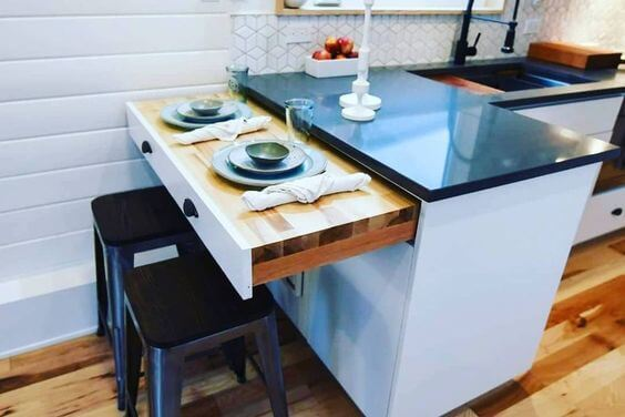 tiny house dinning table ideas