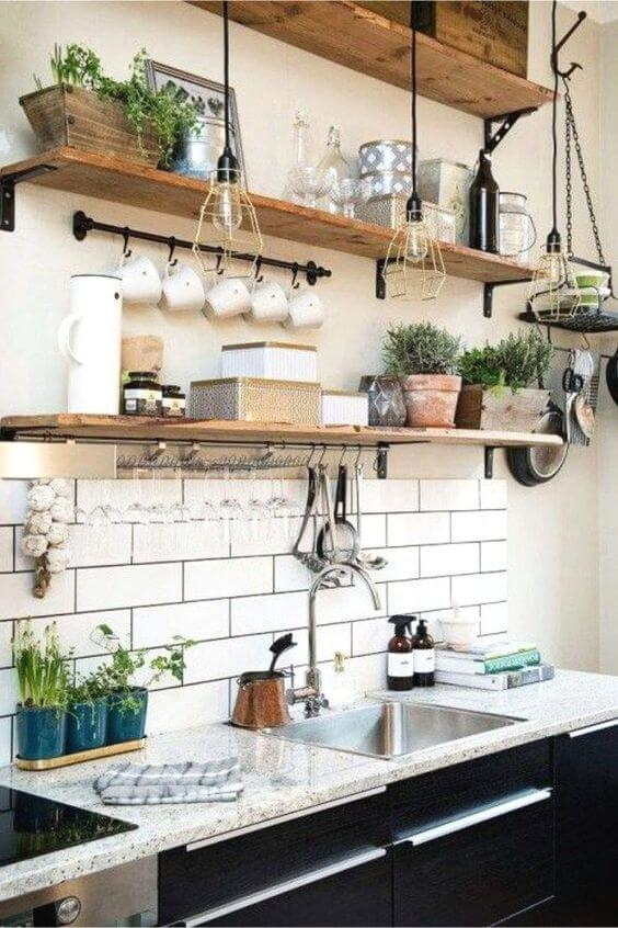 tiny house kitchen decor