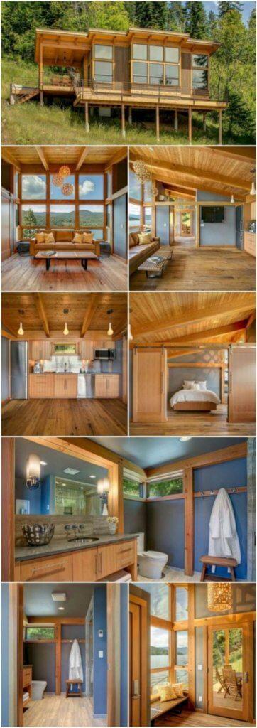 tiny prefabricated house decor
