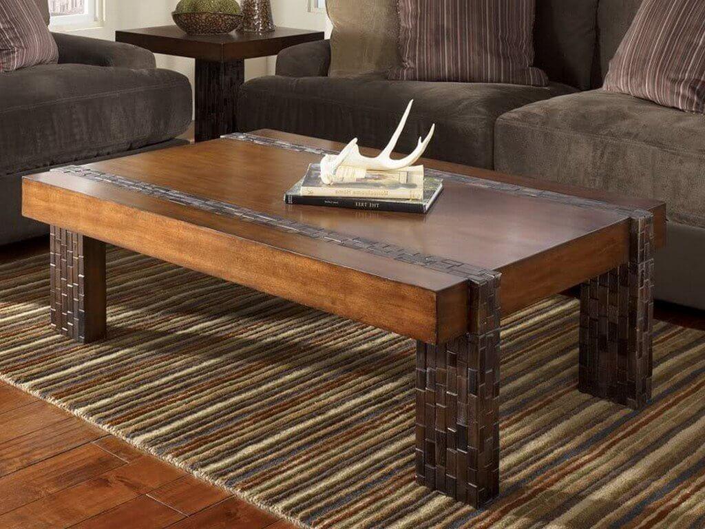 wooden furniture rustic minimalist