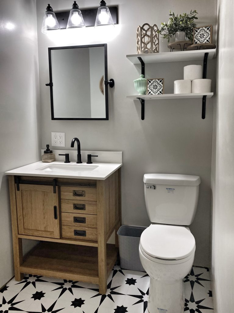 Best 15 Small Bathroom Ideas - Glam up the Gloom in your Bathroom