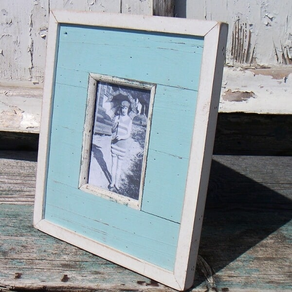 Beach Hut photo frame idea