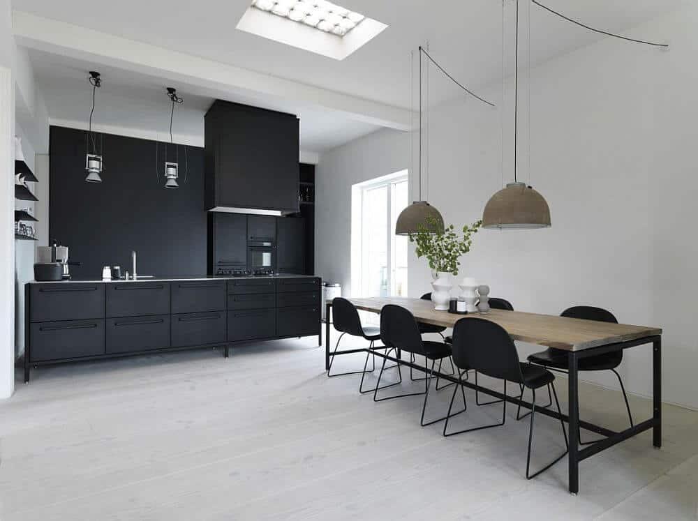 Black scandinavian design ideas