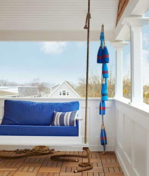 Buoy Garlands Porch