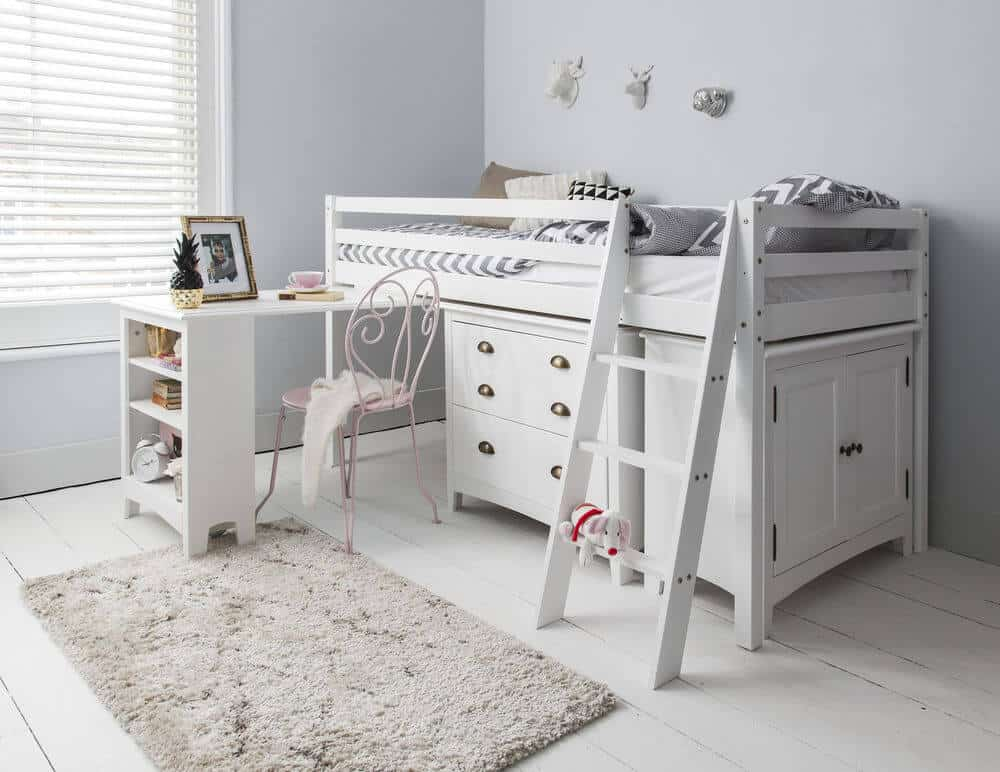 Cabin Beds for kids with Cupboards