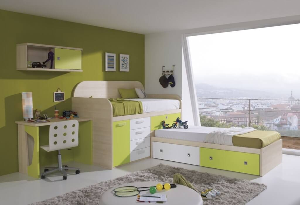 Cabin Beds for kids with Desks