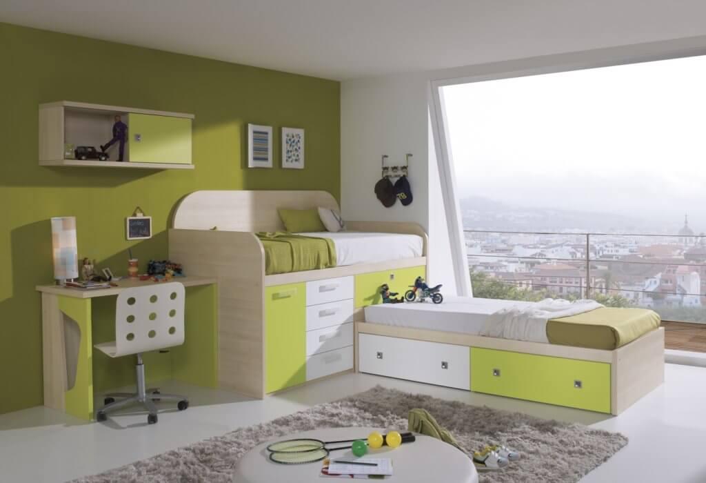 Cabin Beds for kids with Desks