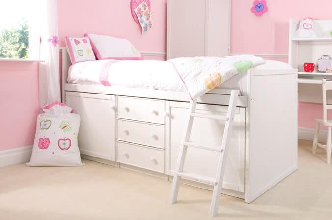 Cabin Beds for kids with Drawers